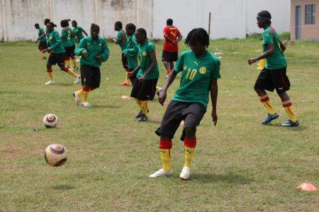 Image du football féminin